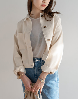 9565_Cotton Short Jacket