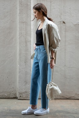 1227_Cool Denim Wide Pants [ Pre_Order 10% DC ] 리오더중