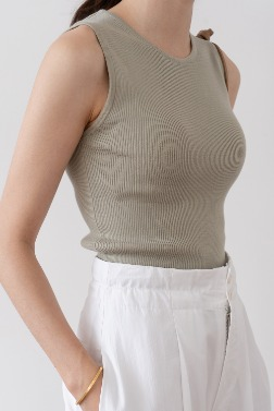 1951_Pia Sleeveless Top [ Pre_Order 10% DC ]