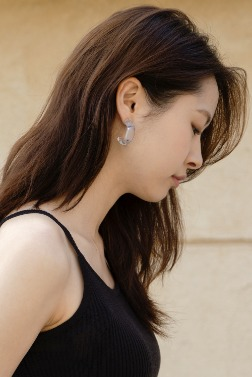 1535_Transparent Earring