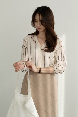 5397_Pin stripe cardigan