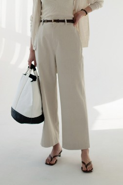 5541_Straight Cotton Pants