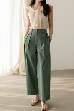 5674_Roll Cotton Pants