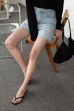 6284_SAL_Cone denim Shorts