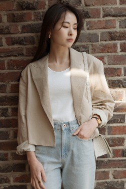 6020_French Crop Jacket