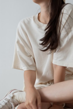 7171_Smooth Half Sweatshirt