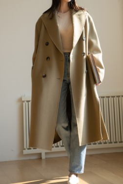 8639_Wool handmade coat