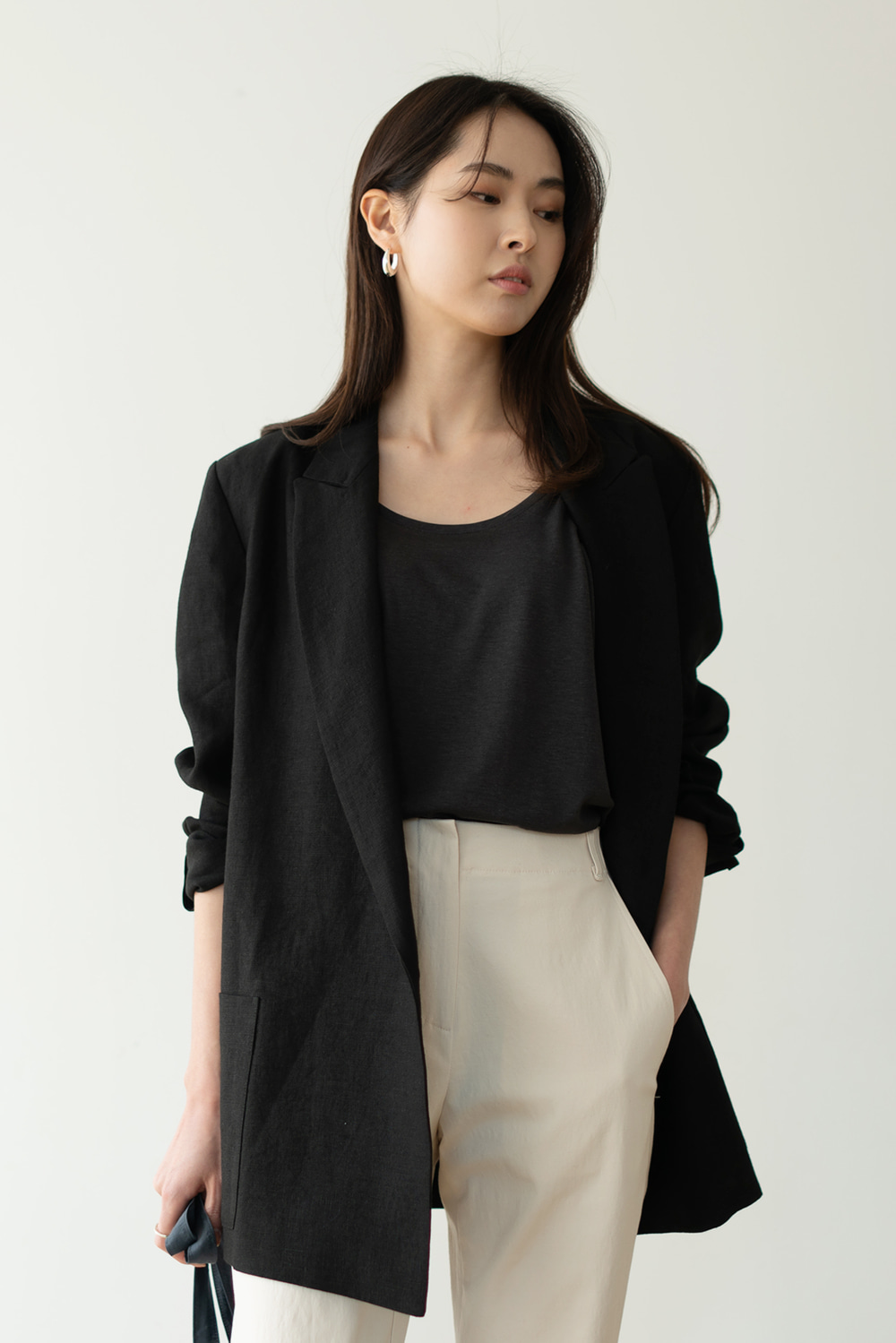 5716_Mannish Linen Jacket