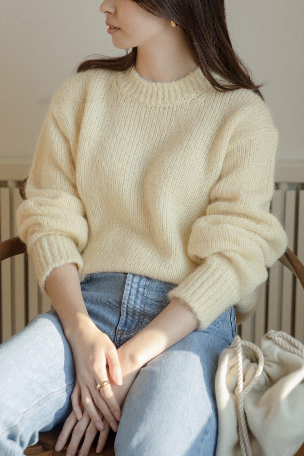 8622_Alpaca round knit [ New Season / 10% DC ] 26일 PM 6 마감